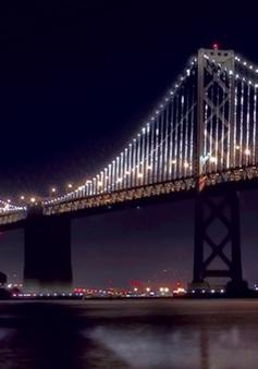 Rực rỡ công trình điêu khắc ánh sáng lớn nhất thế giới