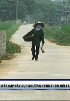 """Thái Nguyên: """"Gánh nặng"""" từ con đường liên thôn"""