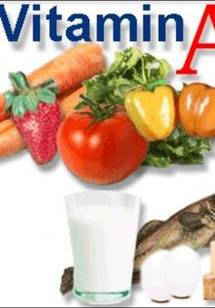 Thừa vitamin A có thể gây hại cho xương