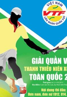 Khởi tranh giải quần vợt thanh thiếu niên xuất sắc toàn quốc 2013