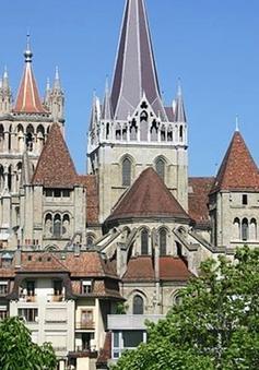 Chiêm ngưỡng kiến trúc nhà thờ đẹp nhất Thụy Sĩ