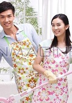 Nhà sạch giúp vợ chồng hạnh phúc hơn