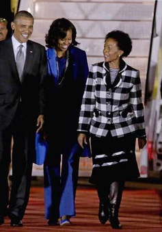 Tổng thống Mỹ tới Nam Phi