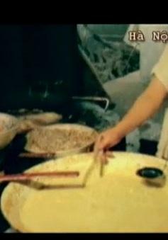 Bánh tôm Hồ Tây - Từ món ăn bình dân đến đặc sản