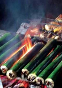 Cơm lam - Nét ẩm thực tinh tế của vùng núi Bắc bộ