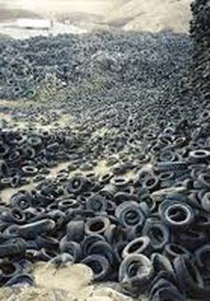 Phương pháp mới tái chế lốp xe cũ