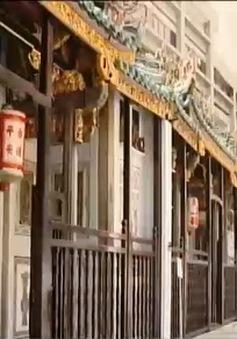 Bảo tồn chùa cổ 200 năm ở Singapore