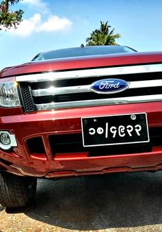 Myanmar đổi biển số xe sang ký hiệu Latin để hòa nhập ASEAN