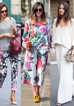 Những style quần bạn nên có trong mùa hè