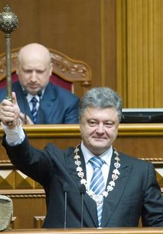 Ukraine: Tân Tổng thống Poroshenko tuyên thệ nhậm chức