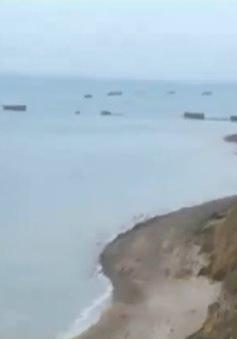 Bảo tồn cảng nhân tạo mang tính lịch sử tại Normandy