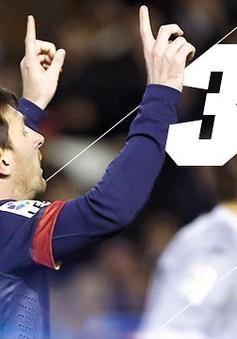 Barca thắng Granada, Messi lại lập kỷ lục mới