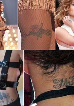Bộ sưu tập hình xăm gợi cảm của Cheryl Cole