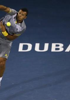 Giải Dubai Open: Tsonga bất ngờ bị loại sớm