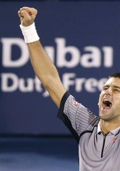 Nole đăng quang thuyết phục ở Dubai Open