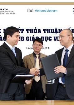 Tinh Vân - IDG Việt Nam hợp tác đầu tư cho giáo dục