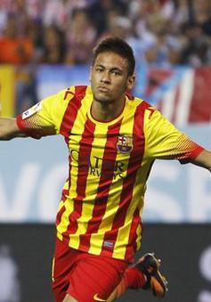 Neymar giúp Barca thoát hiểm ở Calderon