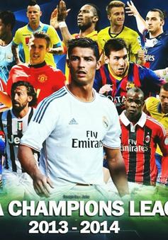 Lịch tường thuật trực tiếp Champions League ngày 23/10