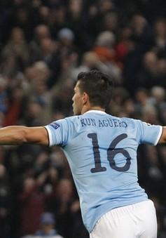 VIDEO: Aguero toả sáng cùng Negredo, Man City đè bẹp CSKA