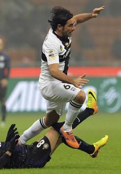 Inter 3-3 Parma: Rượt đuổi nghẹt thở (VIDEO)