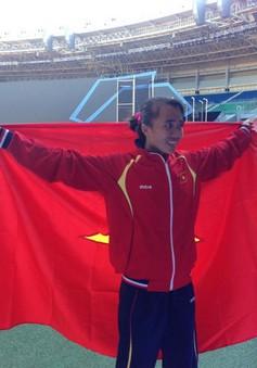 """SEA Games 27: Chuyện trò cùng cô gái """"chân đất"""" đoạt HCV Phạm Thị Bình"""