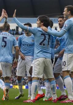 Man City 4-2 Cardiff: Tiếp tục bám đuổi (VIDEO)