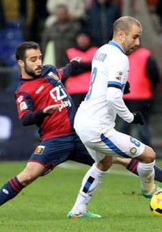 Genoa 1-0 Inter: Gục ngã nơi đất khách (VIDEO)