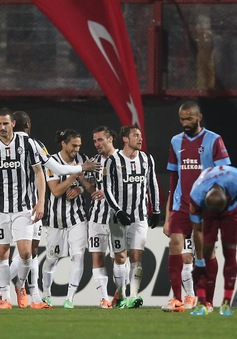 Trabzonspor 0-2 Juventus: Hạ gục nhanh, tiêu diệt gọn (VIDEO)