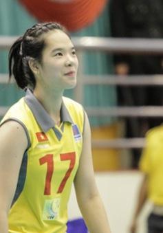 Những bóng hồng xinh đẹp của tuyển Việt Nam tại VTV Cup 2014