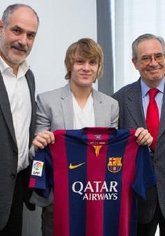 """Barca chính thức hoàn tất hợp đồng với """"Messi châu Âu"""""""