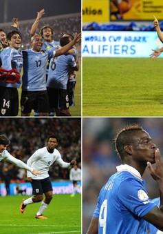 """World Cup 2014: Bảng D - Bảng đấu của """"tử thần"""""""