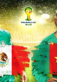 """23h00 ngày 13/6, Mexico - Cameroon: Thuần phục """"sư tử""""?"""