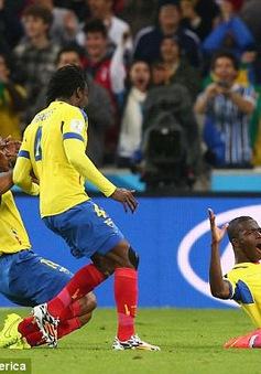 Cập nhật kết quả, BXH World Cup 2014 ngày 21/6: Italy thua sốc, Pháp đại thắng Thuỵ Sĩ