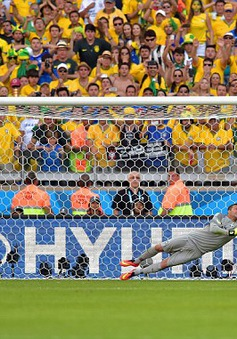 Chùm ảnh: Brazil nghẹt thở giành vé vào tứ kết World Cup 2014