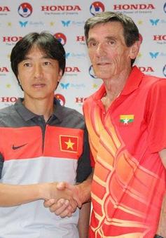 HLV Miura ngỡ ngàng với trận thắng đậm của ĐTVN