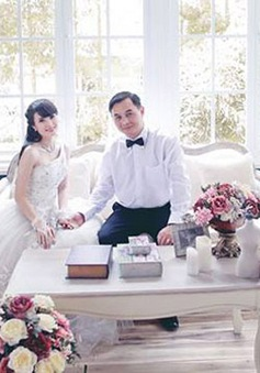 Em gái Công Vinh bất ngờ lấy chồng luống tuổi
