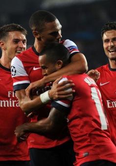Play-off Champions League: Arsenal chạm trán Besiktas, Napoli gặp khó