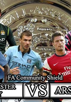 Arsenal - Manchester City: Phát súng lệnh cho mùa giải mới (21h00, K+1)