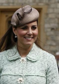 Công nương Kate Middleton khoe vẻ đẹp tròn đầy