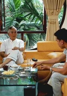 """""""Ông cố vấn"""" Vũ Đình Thân tái xuất màn ảnh"""