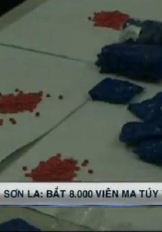 Bắt hai kẻ vận chuyển 8.000 viên ma túy tổng hợp