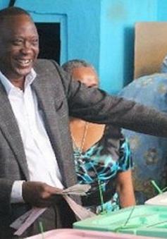 Ông U.Kenyatta trở thành tân Tổng thống của Kenya