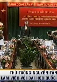 Thủ tướng làm việc tại ĐH Quốc gia Hà Nội