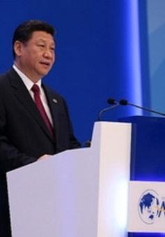 """Chủ tịch Tập Cận Bình kêu gọi """"đổi mới, trách nhiệm, hợp tác"""""""