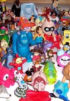 Cảnh báo đồ chơi Trung Quốc chứa độc tố