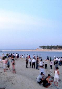 Tắm sông Nhật Lệ, 2 học sinh thiệt mạng