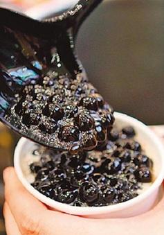 Chưa phát hiện trà sữa trân châu có chất độc hại