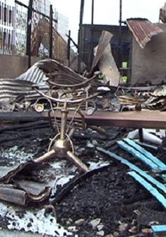 An Giang: Lại xảy ra hỏa hoạn gây thiệt hại nghiêm trọng