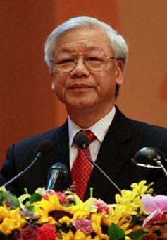 Tổng Bí thư Nguyễn Phú Trọng thăm chính thức Thái Lan
