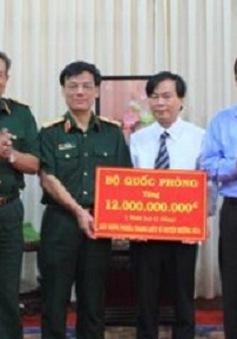 Hỗ trợ 12 tỷ đồng tôn tạo nghĩa trang liệt sĩ huyện Hướng Hóa